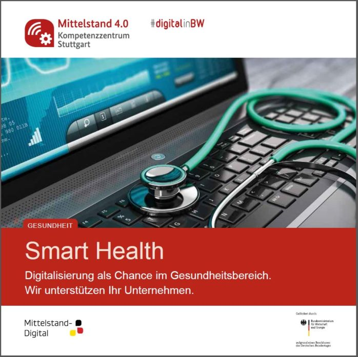Deckblatt der Broschüre Smart Health